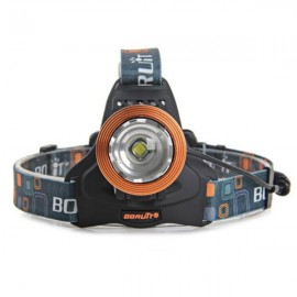 "RJ-2800T6 ""1000lm"" 3-Mode Zoomable LED Headlamp Golden"