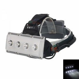 Outdoor 4 LED T6 2000 LM 3 Mode Headlight USB Rechargeable