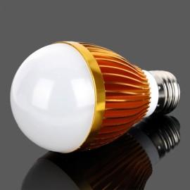 E27 7W 14 x SMD 5730 700LM 4000K Warm White LED Light Bulb Golden