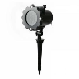16 Slides LED Landscape Projector Light Dynamic Projection Lamp - EU Plug