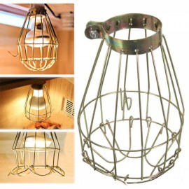 BL-524 Hanging Vintage Heat Guard Metal Wire Lamp shade for Pendant Light