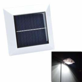 CMI YH0416A-PIR 2W 150lm 7000K 4-LED Cool White Waterproof Solar Human Body Induction Lamp White