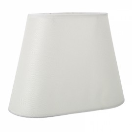 Modern European Wooden Base Fabric Shade Lampshade Bedroom Decor White