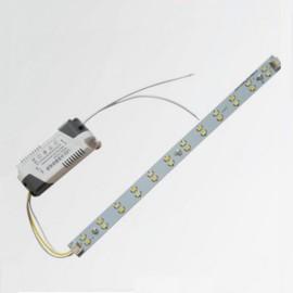30cm 12W 5730 LED Bar Light LED w/ Strip Power Driver White Light