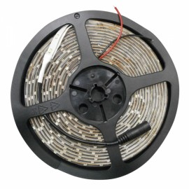 12V 5m SMD 3528 300-LED Warm White Light LED Strip