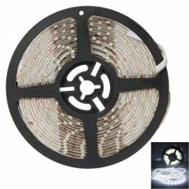 25W SMD3528 5m 300LEDs White Light Epoxy Waterproof LED Light Strip (White Lamp Plate) (12V)