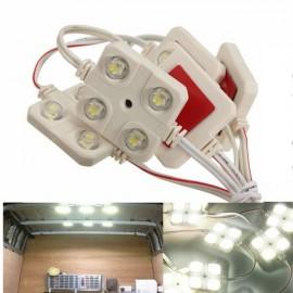 10pcs Car 4-LED Interior Light Kit for LWB Van Lorries Sprinter Ducato Transit VW(12V)