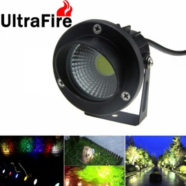 UltrFire Outdoor Waterproof Landscape Garden Courtyard Lawn Ground Tree Lamp COB Light White Light