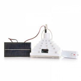 Solar Powered Remote 25 LED SMD Wall Lamp Outdoor Garden Camping Emergency Light White Light