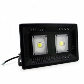 100W IP65 Waterproof Anti-thunder Temperature Control Ultrathin LED Flood Light White (AC170-300V)