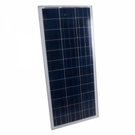 100W 12V Semi Flexible Solar Panel Battery Charger Black & Red