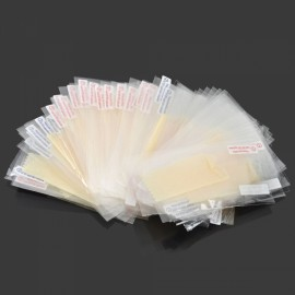 50pcs Screen Protectors Fine Stickiness ARM HD for iPhone 5/5S/SE Transparent
