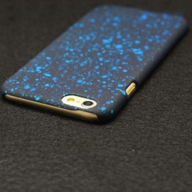 """4.7"""" Universe & Stars Pattern PC Protective Case for iPhone 6/6S Blue"""