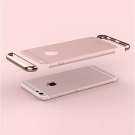 Joyroom Ultrathin Bumper Frame & Back Cover for iPhone 6/6S Rose Golden