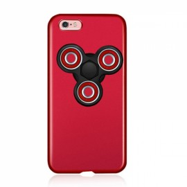 Finger Spinner Decompression Gyro Red Shell Black Gyro For iPhone 7 Plus