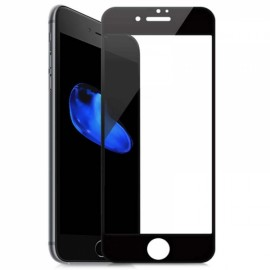 3D Full Cover HD Clear Screen Protector Film for iPhone 7/8 Black