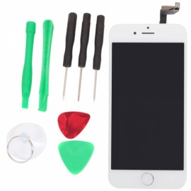 LCD Touch Screen Assy Assembly with Removal Tools for iPhone 6S White