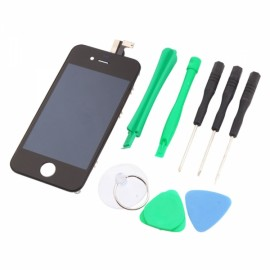 Cost-effective LCD Touch Screen Digitizer Replacement Assembly for iPhone 4 GSM with Tools Sets Black