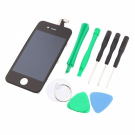 Cost-effective LCD Touch Screen Digitizer Replacement Assembly for iPhone 4 CDMA Version with Tools Sets Black