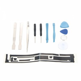 12pcs Repairing Disassembly Tool Kit with Tweezers and Adhesive Tape Sticker for iPad 3/4