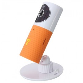 DOG-1W IR Night Vision 720P Wireless WiFi Security Audio Video IP Camera Monitor Orange