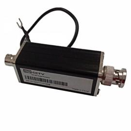 HD-SDI CCTV Lightning Arrester BNC Interface Black