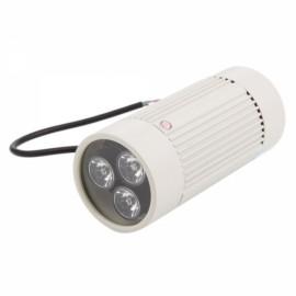3-LED Infrared Illuminator Lamp for CCTV Camera Beige