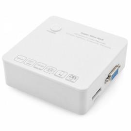 ZONEWAY N6200-8E 8CH Super Mini NVR HD ONVIF HDMI Network Video Recorder for IP Camera White