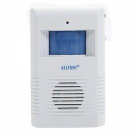 K319B Wireless Intelligent and Greeting Warning Doorbell White