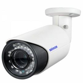 Sinocam 1.3MP Vandalproof 2.8-12mm Bullet Indoor Outdoor IP Camera Black & White