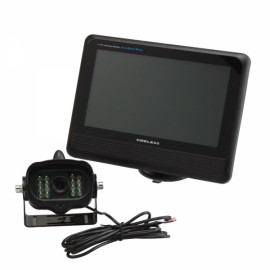 """2.4GHz Wireless Car Rear View Camera System with 7"""" Digital Color LCD Monitor"""
