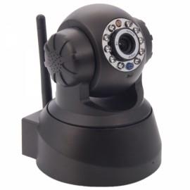 Wireless Wifi 0.3MP Two-way Audio P2P IP Network Camera Black XXC5030-P (EU Plug)