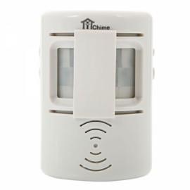 D-005 Two-way IR Sensor Detector Greeting Welcome Doorbell White
