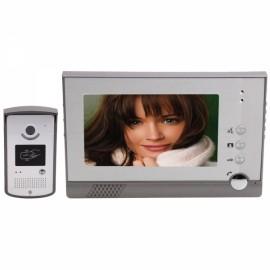 """7"""" TFT Wired SY805MEID11 Video Door Phone Intercom + 5Keytags"""