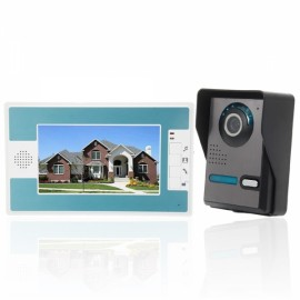 "SY812FA11 7"" TFT LCD Monitor Color Video Door Phone Doorbell Home Intercom System"