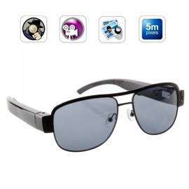720P Fashion Ultra-thin Sunglasses Camera Eyewear Hidden Camera