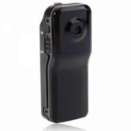 Ultra Mini WiFi Wireless IP Camera Home Surveillance Camera MD81 Black