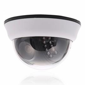 "1/4"" CMOS 1000TVL NTSC IR-CUT 22-LED 3.6mm Dome Indoor Security Camera"