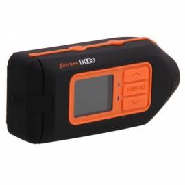 HD 1080P Outdoor Sports Helmet Camera DV Black & Orange HD119