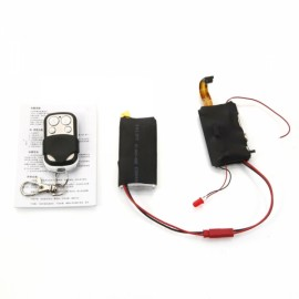 1080P High Definition H.264 Remote Control Module with Hidden Camera Black