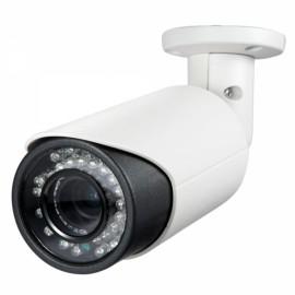 Sinocam 720P HD Vandalproof 2.8-12mm Bullet Network IP Camera Black & White