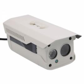 HD 720P CMOS 1-IR LED Array Square Shape IP Camera + Remote Access White