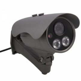 HD 720P 2-IR LED Array Outdoor Waterproof Network IP Camera Korea Gray