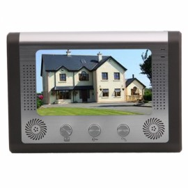 "7"" LCD SY801ME11 Wired Video Door Phone Intercom-1 Monitor 1 CCD Camera Station"