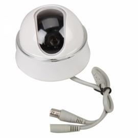 """1/4"""" Sharp CCD 420TVL Plastic Dome Security Camera White Silver"""