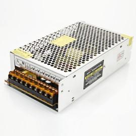 WW-2410A DC 24V 10A Iron Switch Power Supply Silver