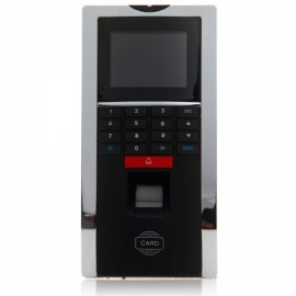 F-12UT All-in-one Fingerprint + Password + Induction Card Type Time Attendance Access Controller Security Entrance Guard Black