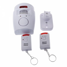 Home Security Motion Sensor Alarm Infrared Remote