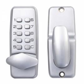 High Security Mechanical Password Door Lock OS380S Silver