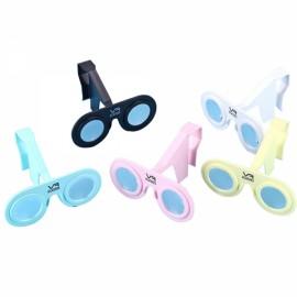 VR PLUS Virtual Reality Folding 3D Glasses Plastic Cardboard Portable VR Glasses for Smartphone Pink